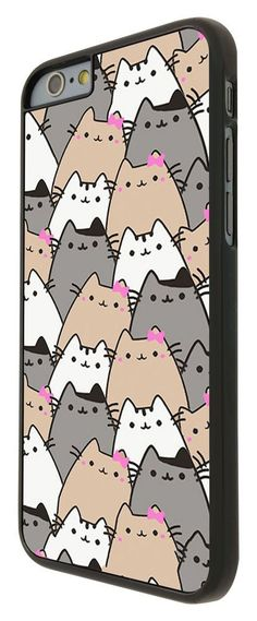 Cute Cats Collage Sketch Multi Cats Cute iphone 6 Case Back Cover Plastic/Metal