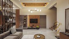 Living Room Partition Design, Room Partition Designs, Ceiling Design Living Room, Home Room Design, Living Tv, Living Room Wall Units, Living Room Tv Unit Designs, Living Rooms, Tv Unit Interior Design