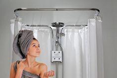 clevershower - Duschvorhang-Halterung ALBERT (Bild-1)