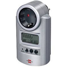 Controla tu consumo de energía para poder aplicar hábitos de ahorro. http://www.efimarket.com/medidor-potencia-medir-reloj