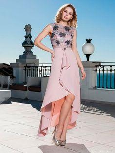 e34d926c ... Comprar Online. Blissonline · Sonia Peña · Vestido asimetrico con top  de encaje