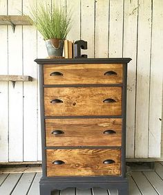 rustandrelics | Furniture-Rustic Black & Wood Dresser $250 from Rust & Relics LLC. Get Industrial Farmhouse Furniture, Decor, Accessories and MORE for CHEAP from Rust & Relics LLC. Farmhouse Clock, Farmhouse Kitchen, Farmhouse Decor, Interior Design, Home Staging, Store, E-design, Wedding Rentals and MORE!! Your NEW favorite site for all things Farmhouse, Rustic, Modern and Industrial.