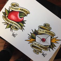 a little crazy for LOTR flash tattoos right now. I like the second breakfast idea! Lol