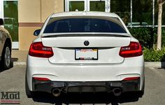 Carbon Fiber Trunk Spoiler for 2014+ BMW 228i M235i 2-Series [F22] Performance Style BMTS2201