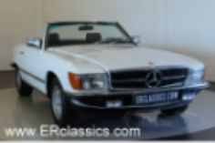1981 Mercedes-Benz, 280SL  Mercedes-Benz 280 SL cabriolet 1981, in very good condition  This Mercedes-Benz 280 SL was delivered in Europe in 1981. The car has beautiful white paint, chrome in excellent condition and the original wheels. The interior is as new, with beautiful and comfortable brown leather. The dashboard has several woodparts. This 280 SL has the original 2746CC, 6 cyl, 203 HP engine  ..  http://www.collectioncar.com/detailed.php?ad=65535&category_id=1