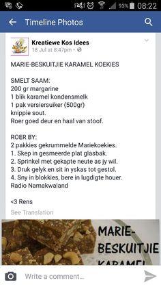 Marie beskuitjie karamel koekies: my childhood favourite!!!