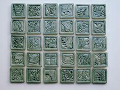 Garden Tiles, Val Webb