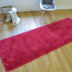 This is one of our softest shaggy rugs and looks stunning in cranberry pink colour. Hallway Inspiration, Hallway Runner, Pink Color, Colour, Reception Areas, Looking Stunning, Carpet Runner, Shag Rug, Interior Design