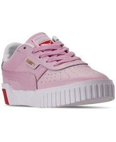 PUMA Smash v2 Buck Jr Kinder Low Boot Sneaker Bridal Rosa
