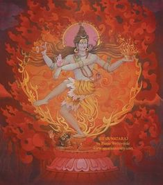 Shiva Nataraj's dance represents both the destruction and the creation of the universe and reveals the cycles of death, birth and rebirth.