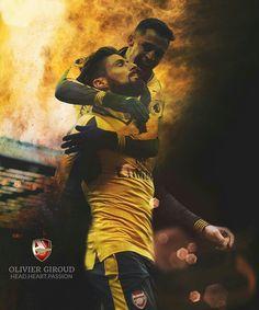 Olivier Giroud & Alexis Sanchez