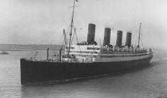 RMS Aquitania Ocean Liner
