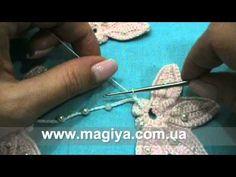 Irish crochet Video