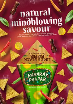 Kararay Paapar-Branding by Junaid Younas, via Behance