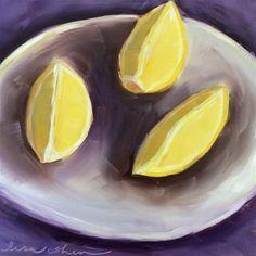 "Daily Paintworks - ""Pucker"" - Original Fine Art for Sale - © Lisa Cohen"