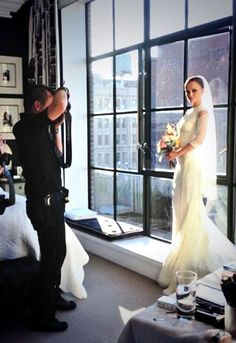 Christina Ricci shared photos of her gorgeous custom-designed Givenchy Haute Couture gown.
