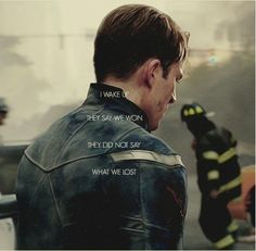 Aw...I live how the firefighters are in the background. I automatically think of 9/11 for some reason.
