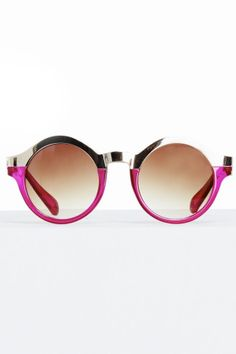 Pink & Mirror Sunglasses