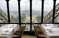 Le Jules Verne Restaurant ~ Eiffel Tower