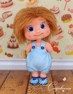 Alyonushka Amigurumi Crochet Pattern PDF file by by KnittLife