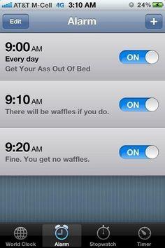 20 Motivational Alarm Clocks
