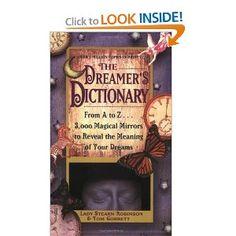 Lady Stearn Robinson and Tom Corbett ~ Dreamer's Dictionary