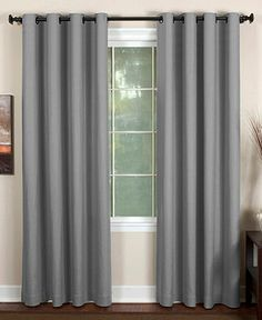 """Elrene Essex Grommet 50"""" x 95"""" Panel - Curtains & Drapes - For The Home - Macy's"""