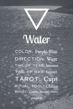 Elements Water: #Water.
