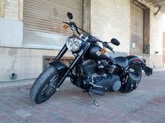 The dream I am currently riding. 2012 Harley Davidson Softail Slim. Changed out a lot of the chrome for black. Will eventually trade the black wheels for red and put white walls on her.