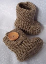 Crochet Uggs... Great gift idea..