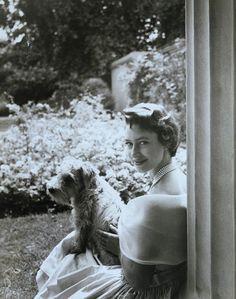 Princess Margaret (1930-2002), photo Cecil Beaton (1904-80). England, 1950s. V&A prints