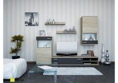 ΣΥΝΘΕΤΟ - ΣΥΝΘΕΣΗ ΣΑΛΟΝΙΟΥ SONOMA - ΑΝΘΡΑΚΙ Flat Screen, New Homes, Living Room, Decoration, Decor, New Home Essentials, Flatscreen, Sitting Rooms, Decorating