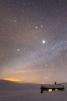 Winters Night Sky
