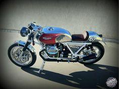 Cafe Racer Pasión — Moto Guzzi 850 Cafe Racer by DBM Garage |...
