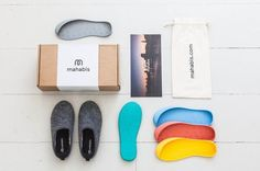 I'm not a big one for wearing slippers outside as shoes (I'm looking at you, Ugg boots!), but these very clever Mahabis slipper-shoes might just change my mind about that....