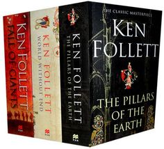 Ken Follett Collection Fall of Giants the Pillars of the Earth and World without End, Ken Follett. (Paperback 1780484631)