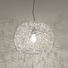 Sea Urchin Round Suspension Light