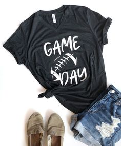 Game Day Game Day Shirts, Nfl T Shirts, Cheer Shirts, Vinyl Shirts, Football Shirts, Kids Shirts, T Shirts For Women, Football Sleeves, Football Shirt Designs