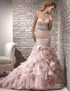 I believe this is a Vera Wang dress, regardless I love it!