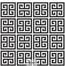 Greek Key pattern. I could study these for days...