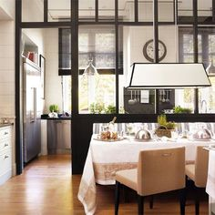 semi open kitchen designs - Buscar con Google