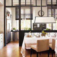 semi open kitchen designs - Buscar con Google