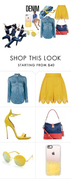 """""""Weekender"""" by bsimon623 ❤ liked on Polyvore featuring J.Crew, Yves Saint Laurent, Temperley London, Casadei, Miu Miu, Beauty & The Beach and Casetify"""