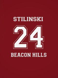 stiles stilinski 24 Jersey logo