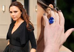 Through nearly 20 years of marriage, Victoria Beckham has accumulated 14 different engagement rings. We're taking an in-depth look at all Emerald Cut Diamonds, Round Cut Diamond, Victoria Beckham Engagement Ring, Sebastien Bach, Different Engagement Rings, Trinity Ring, Engagement Ring Buying Guide, 20 Years, Celebrities