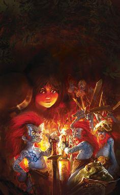 Sir Terry Pratchett 's Discworld by marc simonetti, via Behance,wee free Men Tiffany Aching, Discworld Books, Terry Pratchett Discworld, Sci Fi Art, Fantasy Art, Novels, Geek Stuff, Fandoms, Tours