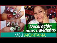 10 Diseños de Uñas Navideñas| Paso a Paso |Fácil |Meli Montana - YouTube Montana, Nails, Friends, Videos, Youtube, Manicure, Fingernail Designs, Step By Step, Finger Nails