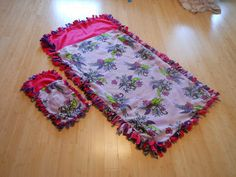 Sunny Days With My Loves - Adventures in Homemaking: DIY No-Sew Sleeping Bags for Daughter and Doll
