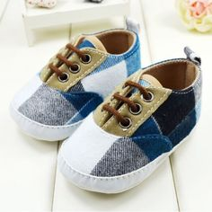 Baby Boy Contrast Shoes