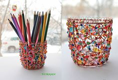 Container for pencils